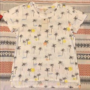 white lucky brand t-shirt